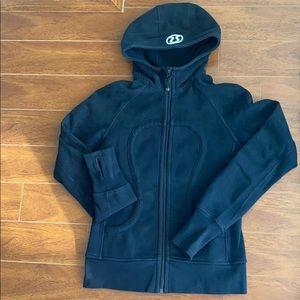 Black scuba hoodie - lululemon